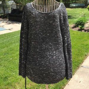 Black and white AEO Sweater